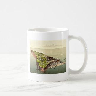 Birdseye view, Helgoland, Germany rare Photochrom Classic White Coffee Mug