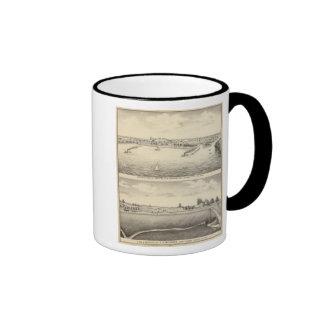 Birdseye view of Montello Ringer Mug