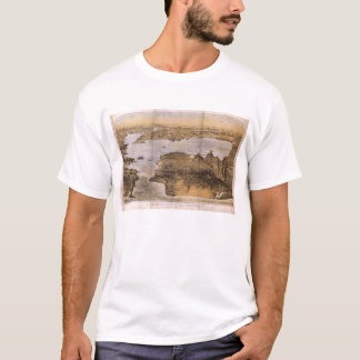 Birdseye View of San Francisco California (1876) T-Shirt