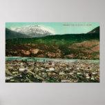 Birdseye View of Skagway, AlaskaSkagway, AK Print