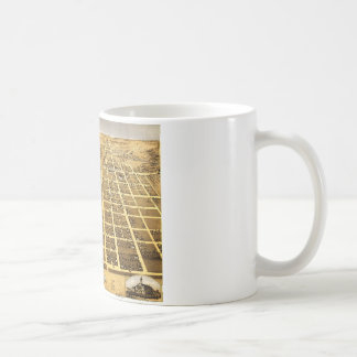 Birdseye view of Urbana, Illinois (1869) Coffee Mug