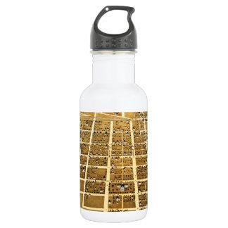 Birdseye view of Urbana, Illinois (1869) Stainless Steel Water Bottle