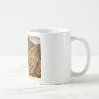 Birdseye view of Virginia City, Nevada (1861) Coffee Mug