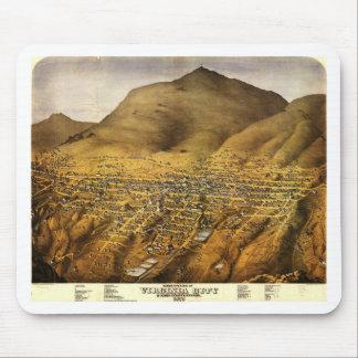 Birdseye view of Virginia City, Nevada (1861) Mouse Pad