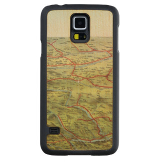 Birdseyes View Great Plains Carved® Maple Galaxy S5 Case