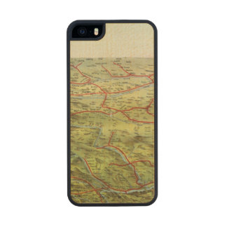 Birdseyes View Great Plains Carved® Maple iPhone 5 Case