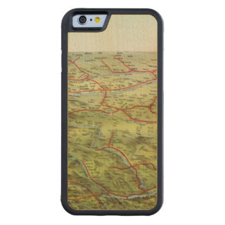 Birdseyes View Great Plains Carved Maple iPhone 6 Bumper Case
