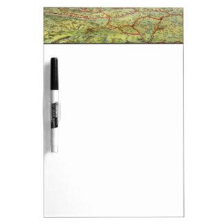 Birdseyes View Great Plains Dry-Erase Board