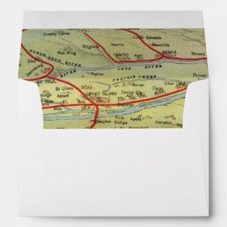 Birdseyes View Great Plains Envelopes