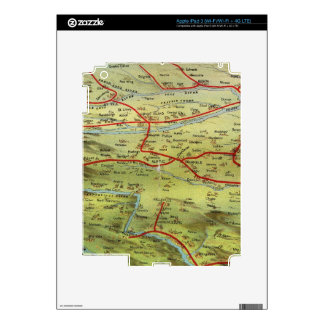 Birdseyes View Great Plains iPad 3 Decal