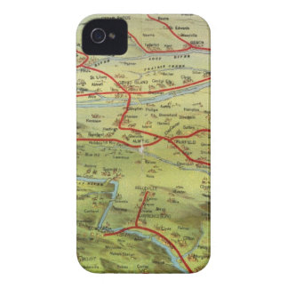 Birdseyes View Great Plains iPhone 4 Cases
