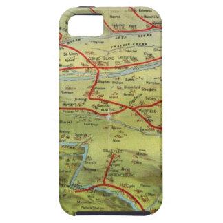 Birdseyes View Great Plains iPhone 5 Case