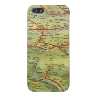 Birdseyes View Great Plains iPhone 5 Cases
