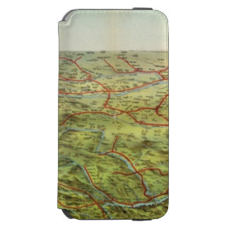 Birdseyes View Great Plains iPhone 6/6s Wallet Case
