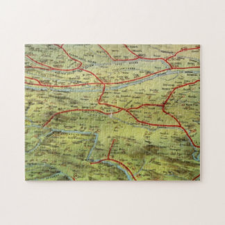 Birdseyes View Great Plains Jigsaw Puzzle