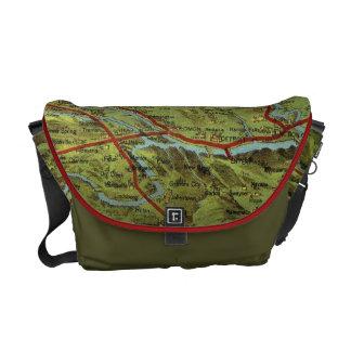 Birdseyes View Great Plains Messenger Bag