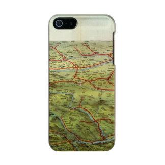 Birdseyes View Great Plains Metallic iPhone SE/5/5s Case
