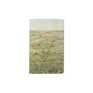 Birdseyes View Great Plains Pocket Moleskine Notebook Cover With Notebook