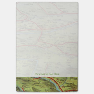 Birdseyes View Great Plains Post-it Notes