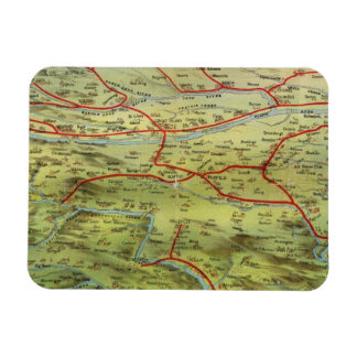 Birdseyes View Great Plains Rectangle Magnets
