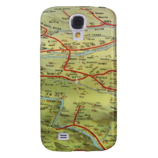 Birdseyes View Great Plains Samsung Galaxy S4 Covers