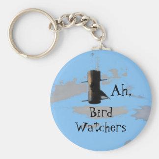 birdsky, BirdWatchers, Ah, Keychain