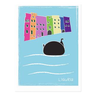 birdsofliguria2 tarjeta postal