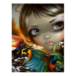 """""""Birdsong 2"""" Postcard"""