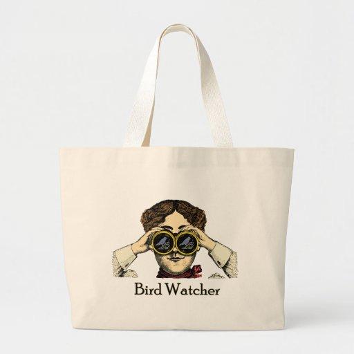 Birdwatcher Bolsa Tela Grande