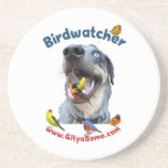 Birdwatcher Dog Coasters