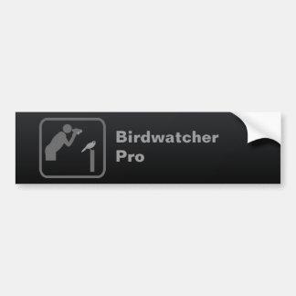 Birdwatcher favorable pegatina para auto