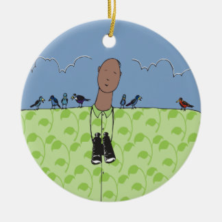 Birdwatcher Tweet Ornament