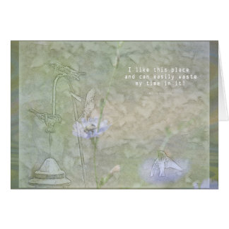 Birdwatcher's All Occassion Card