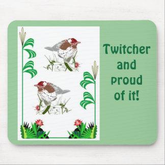 Birdwatchers delight mouse pad