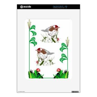 Birdwatchers delight iPad decal