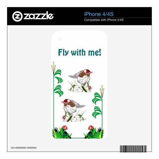 Birdwatchers delight skins for the iPhone 4