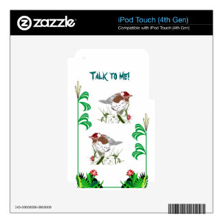 Birdwatchers delight decal for iPod touch 4G