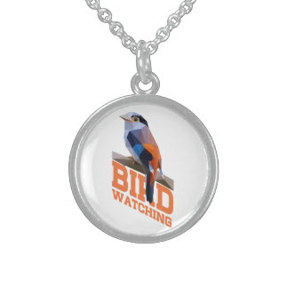 Birdwatching Sterling Silver Necklace