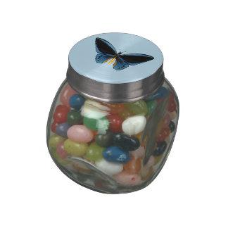 Birdwing Butterfly Jelly Belly Candy Jars