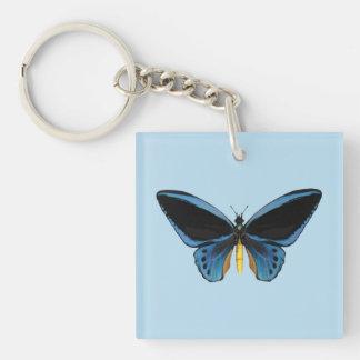 Birdwing Butterfly Keychain