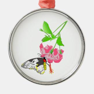 Birdwing Butterfly Metal Ornament