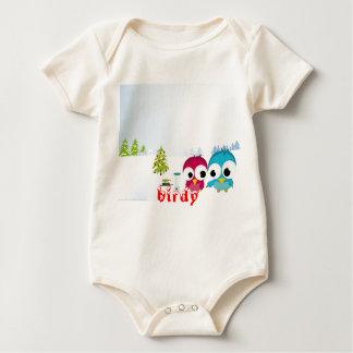 birdy baby bodysuit