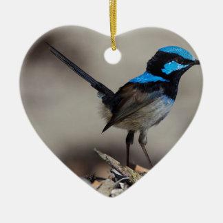 birdy birdy boo ceramic ornament
