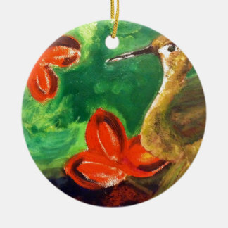 Birdy Ceramic Ornament