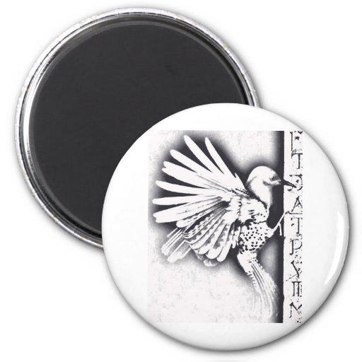 Birdy Imán Redondo 5 Cm