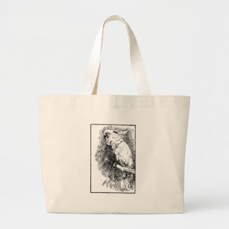 Birdy Large Tote Bag