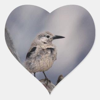 birdy love heart sticker