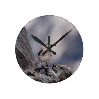 birdy love round clock
