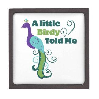 Birdy Told Me Jewelry Box