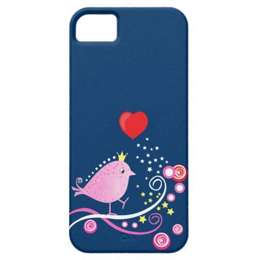 Birdy Vector Swirl -  Case-mate iPhone 5 iPhone 5 Cases